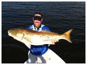 Slide 1 - Destin Inshore Big Redfish Catch
