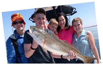 Destin Charter Fishing - Redfish Fishing
