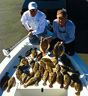 Destin Inshore / Bay / Flats Fishing Trips - Flounder