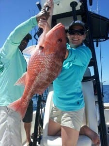Destin Nearshore Red Snapper fishing