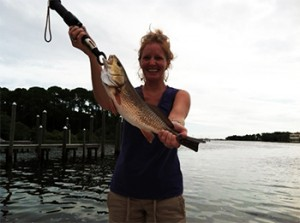 Destin Inshore Redfish Fishing