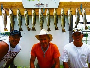 Destin Inshore Speckled Trout Fishing