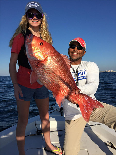 Destin Fishing Charter - Red Snapper Catch